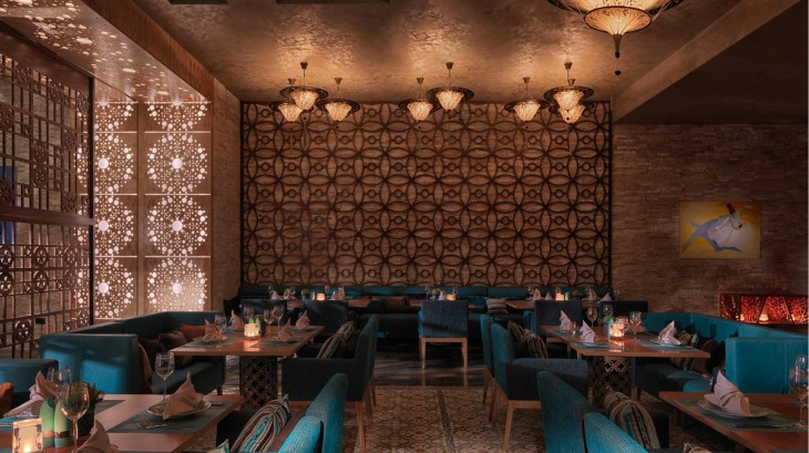 Al Sufra Meaning The Dining Room In Arabic Is Latest Addition To Culinary Collection Of Marsa Malaz Kempinski Captivating Design