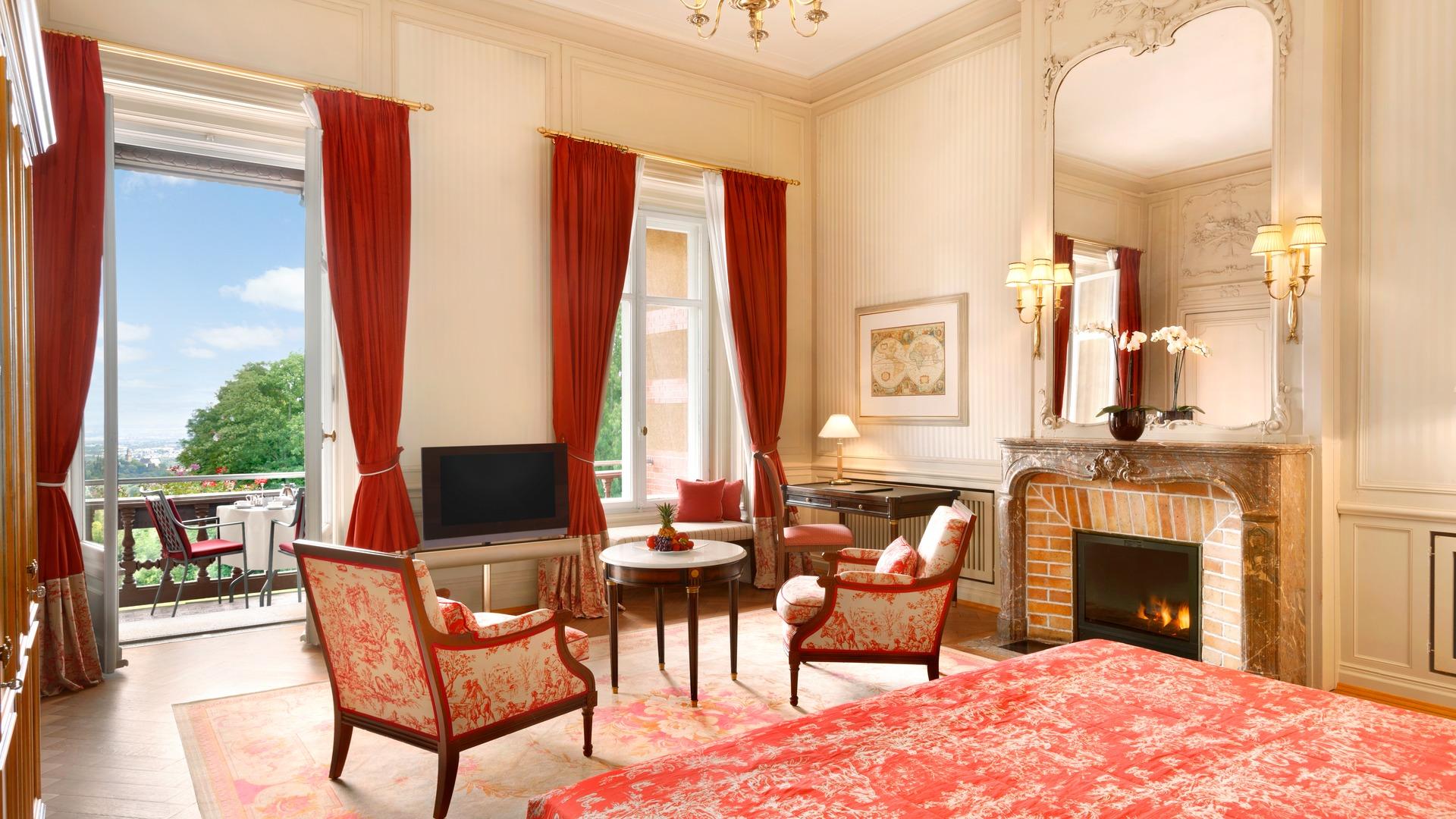 Zimmer und Suiten | Villa Rothschild Kempinski