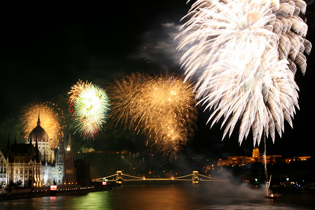20 August - St. Stephan Day's Firework
