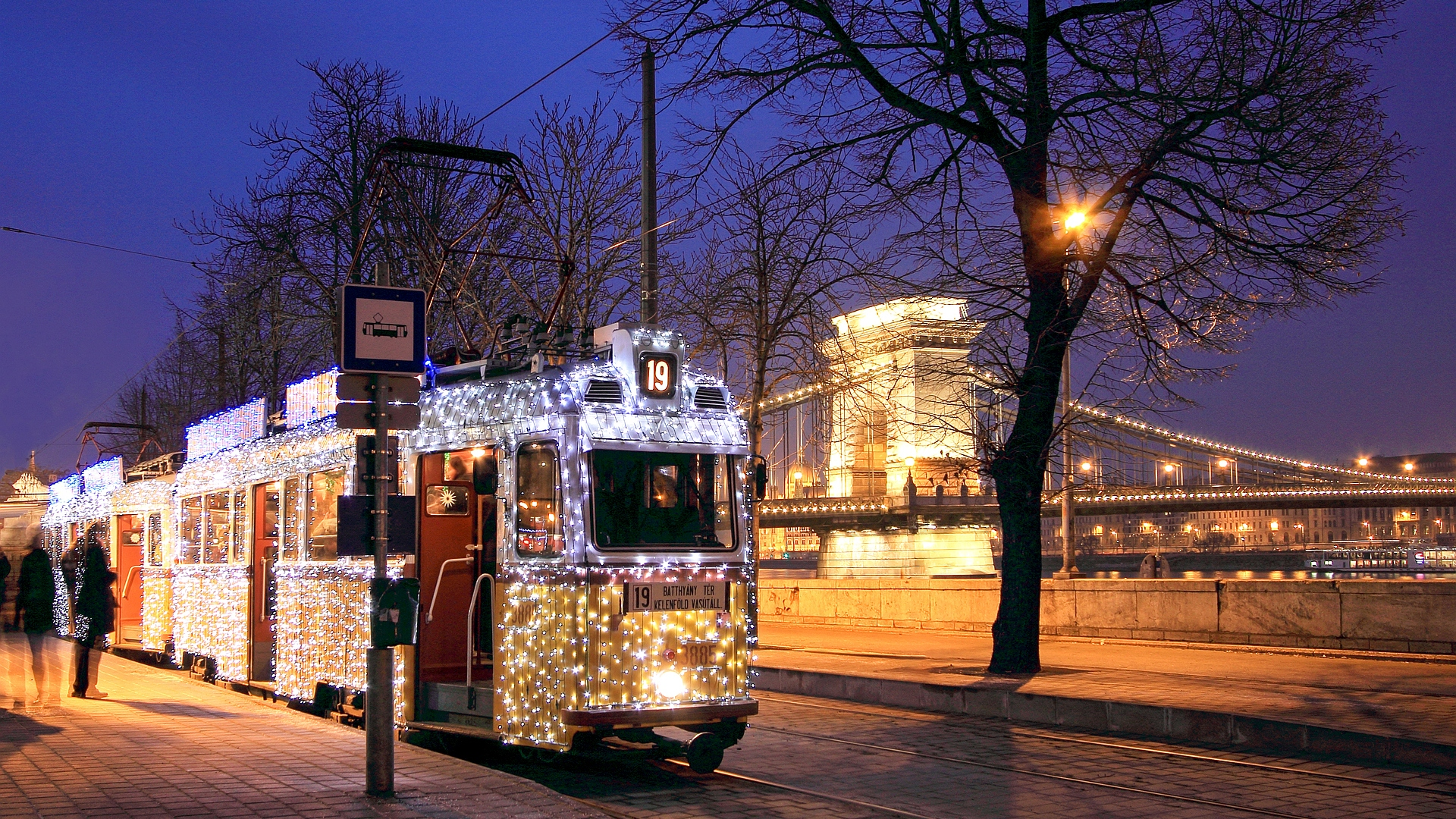 Christmas tram - the most spectacular ride in Europe