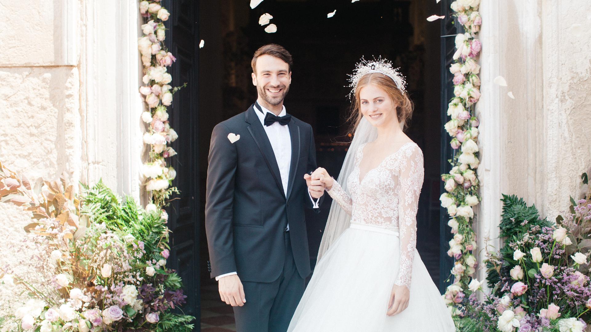 matrimonio da favola al San Clemente Palace Kempinski
