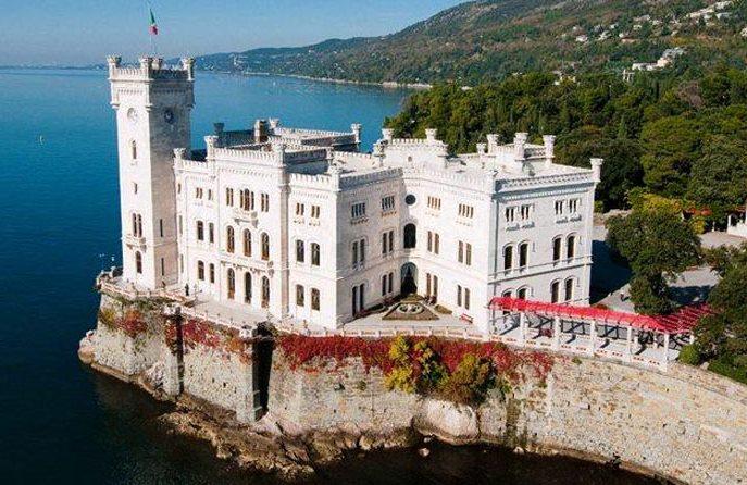 Miramare castle day trip Kempinski Palace Portoroz Slovenia Istria