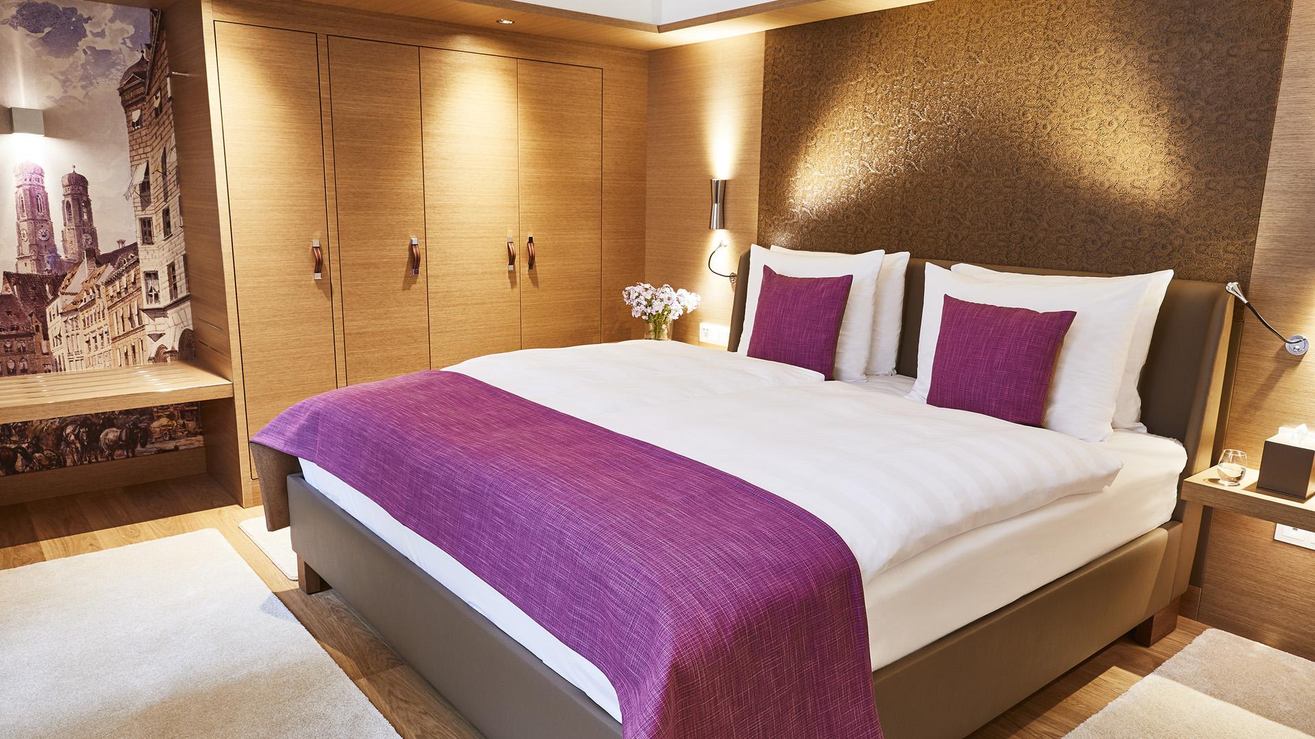 Superior Suite Schlafzimmer