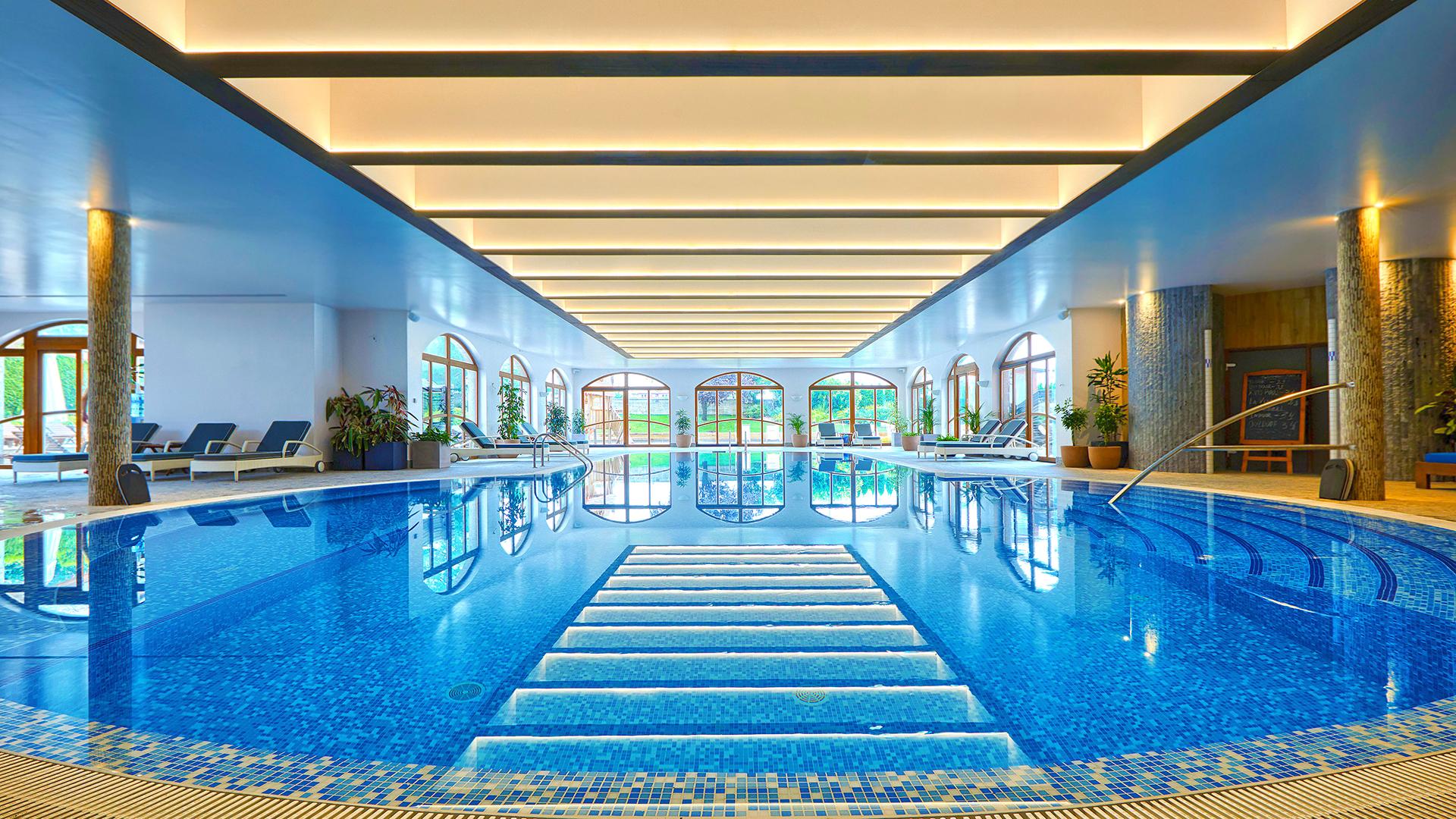 Kempinski The Spa_ вътрешен басейн