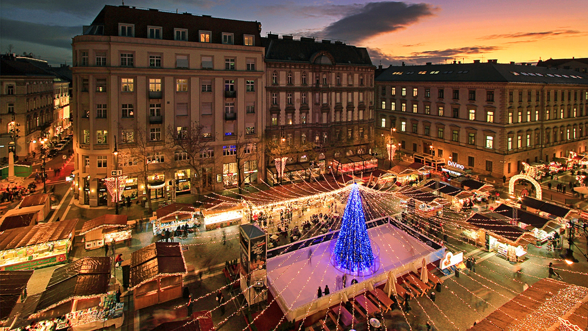 Budapest Christmas Market Location.Unforgettable Christmas And New Year S Celebration In Budapest